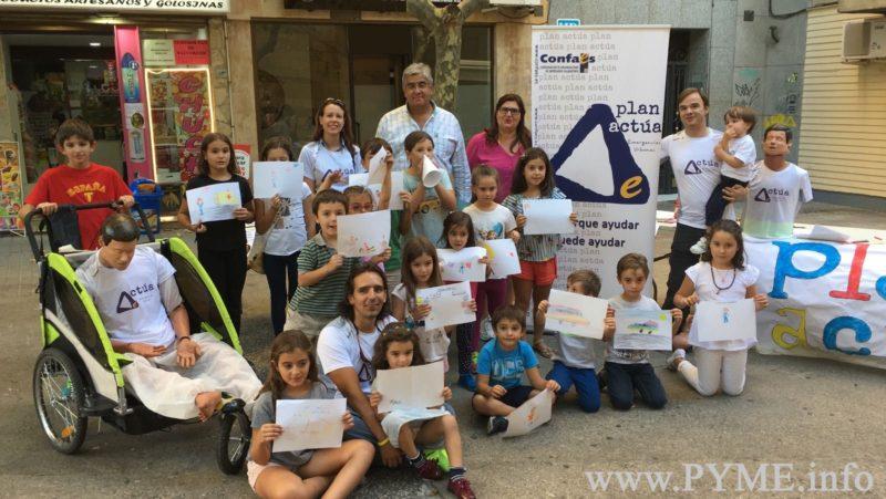 La Asociación de Comercio ASECOV organiza un taller infantil de primeros auxilios en la Plaza del Campillo