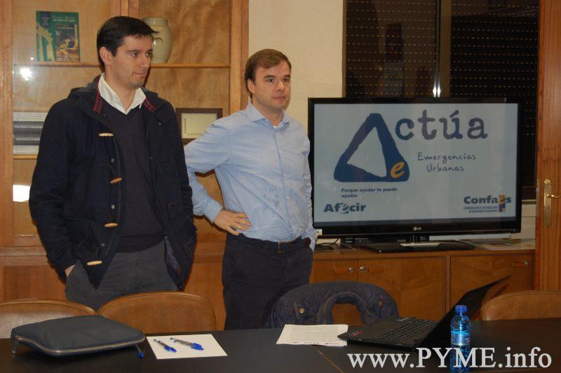 Los empresarios de Ciudad Rodrigo se adhieren al Plan Actúa