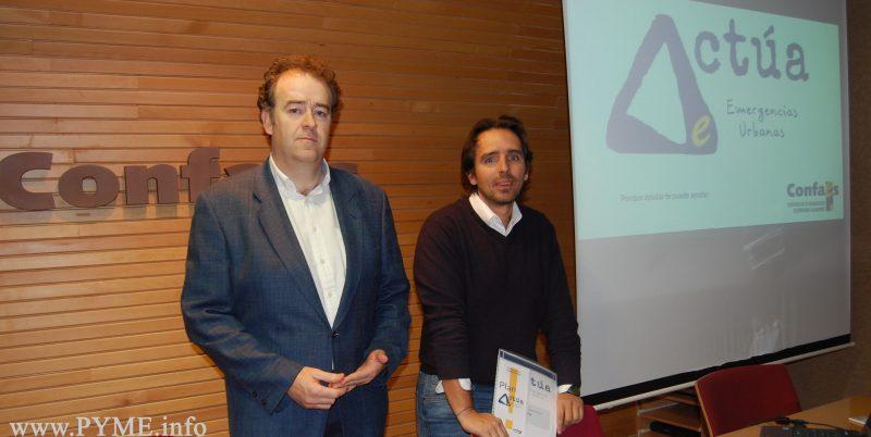 CONFAES pone en marcha el primer programa de intervención en emergencias urbanas dirigido a las pymes de la provincia